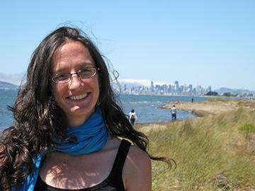 Plant ecologist Erin Riordan, PhD. Image credit: courtesy Erin Riordan