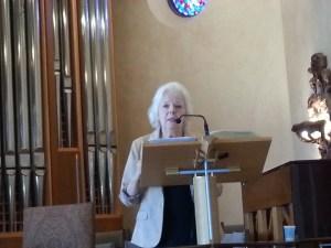 Arlene at Palos Verdes church