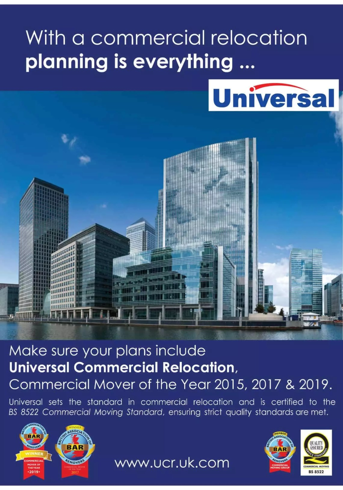 Universal short guide to office and commercial relocation