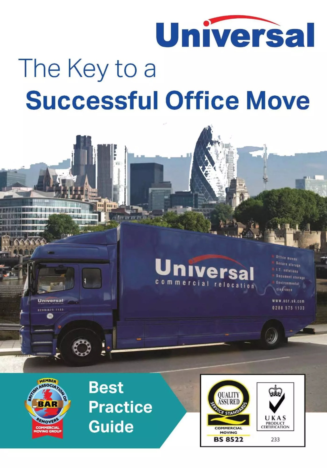 Universal Best Practice Guide for a successful office move