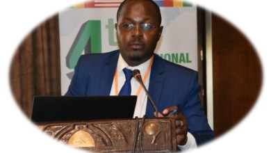 Photo of Dr. Amadou KONE, head of the molecular biology unit