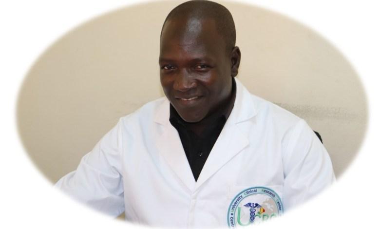 Photo of Dr. Oumar Guindo, Study Coordinator