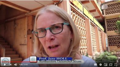 Photo of Prof. Jane Holl expressed her pride for the quality of Scientific Research in Mali
