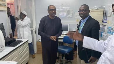 Photo of Prevention and response to the CORONAVIRUS epidemic: Michel Hamala SIDIBE at the UCRC Lab