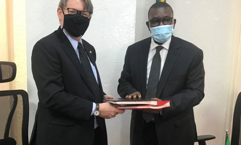 Photo of Mali-USA: Signature of a scientific collaboration agreement