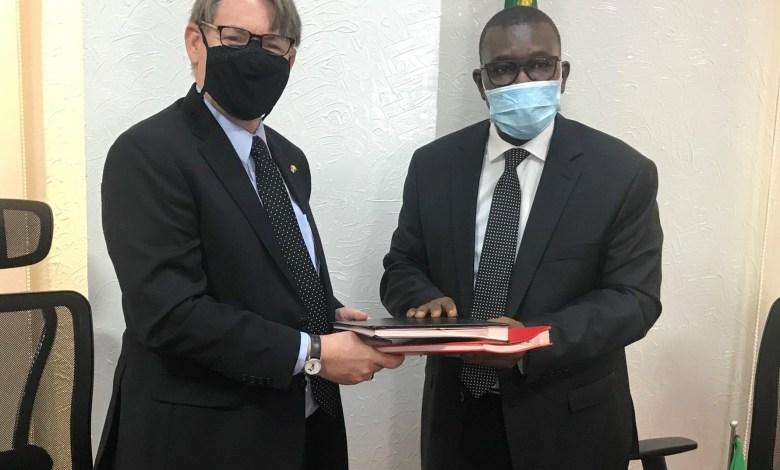 Photo of Mali-USA: Signature of a scientific collaboration agreement
