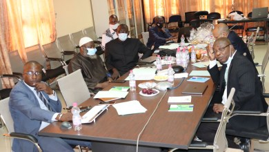 Photo of UCRC Executive Committee meeting: A collaborative framework with the ministry of health, is need to perpetuate the achievements.