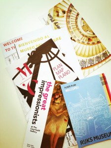 Museum Maps and Brochures
