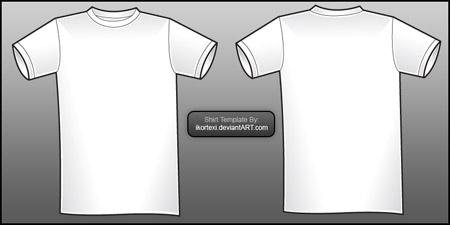 19 Free Blank T Shirt Template Designs – UCreative.com