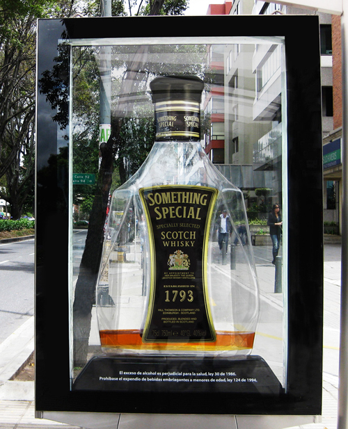 Creative Outdoor Advertisement Design - Something Special Whiskey