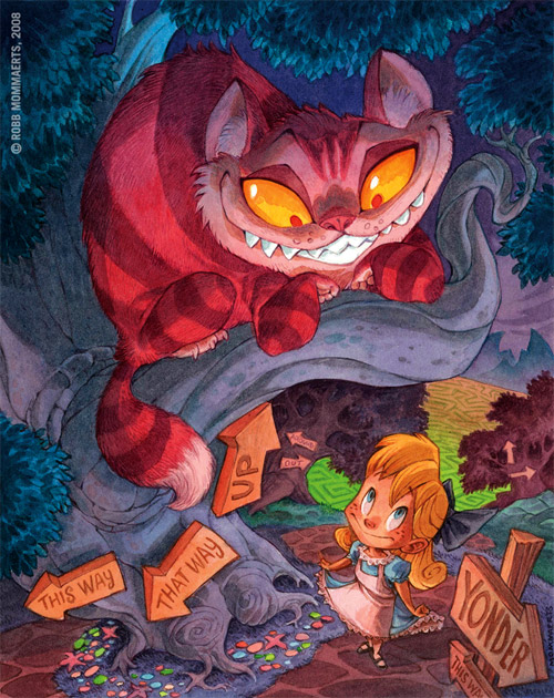Cheshire Cat artwork