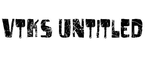 Untitled Font Grunge