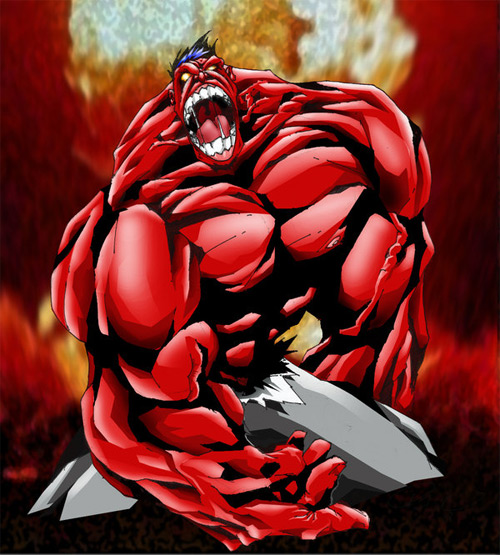 red hot hulk