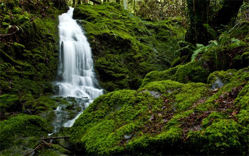 camp meeker waterfall