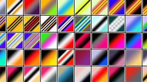 cool photoshop gradient