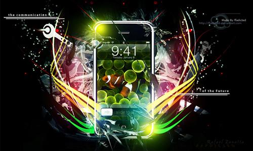 iphone advertising