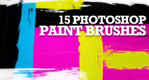 31 Sets of Free Photoshop Paint Brushes – UCreative.com