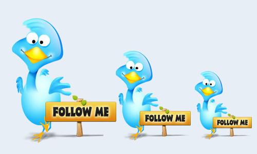 twitter bird 3
