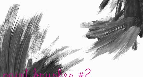 31 Sets of Free Photoshop Paint Brushes – UCreative.com