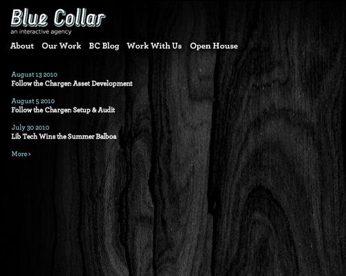 blue collar agency