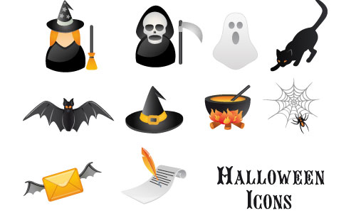 Halloween Icons - Free Halloween Vector Icon Set