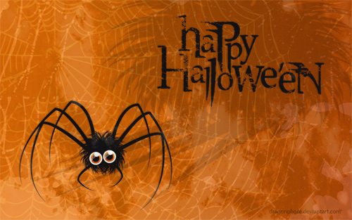 Halloween Desktop Wallpapers - Arachnophobia Wallpaper