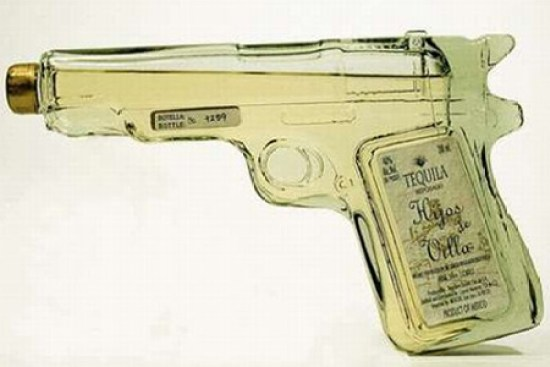 Creative Packaging Design - Tequila Gun Packaging