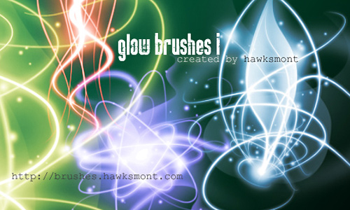 Light Effect Brushes - Glow Brushes