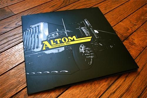 Brochure Design Examples - Altom Brochure Cover