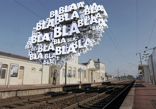 3d Typography Designs - Bla