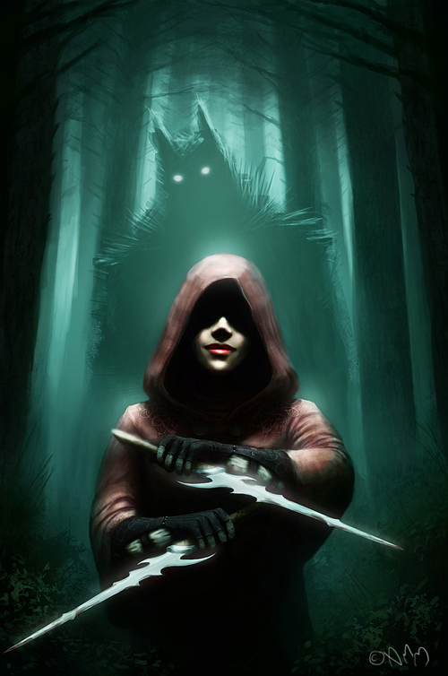 digital-painting-07-red-riding-hood-assassin
