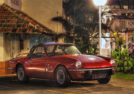 Vintage Car HDR