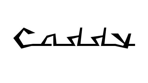 Caddy Font