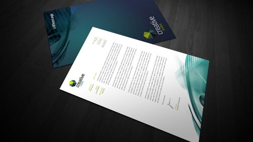 creative studio - Letterhead Design Ideas