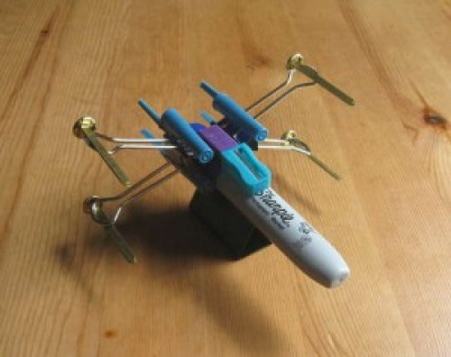 X-Wing Fighter from Office Supplies
