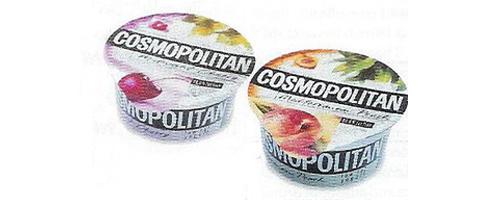 Cosmopolitan yogurt