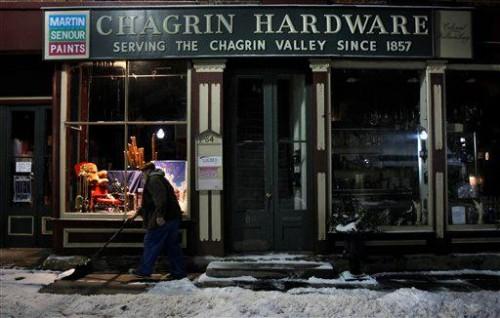 Cash Mob in Chagrin Falls, Ohio