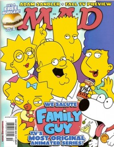 Mad Magazine, October 2005 Cover