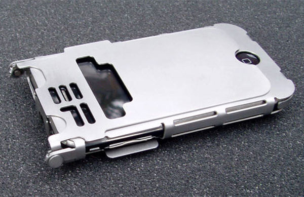 Stainless Steel iPhone 3G And 3GS iPhone Case via YouTheDesigner