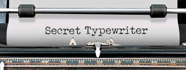 Secret Typewriter via YouTheDesigner