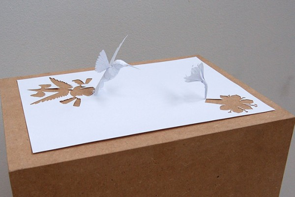 Paper Cut Sculptures by Peter Callesen via YouTheDesigner
