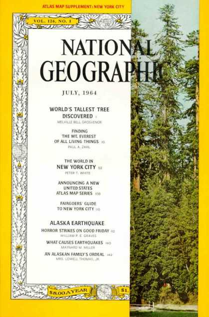National Geographic July 1964 Issue via YouTheDesigner