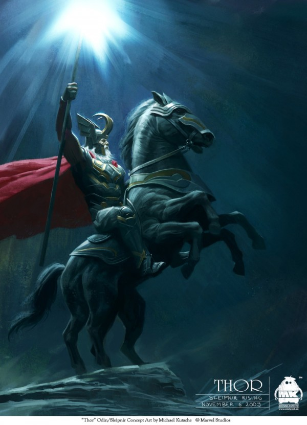 """Concept Art for """"Thor"""" by Michael Kutsche"""