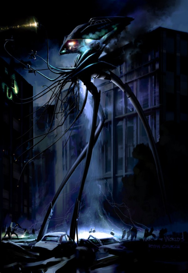 "Concept Art for ""War of the Worlds"" by Ryan Church"
