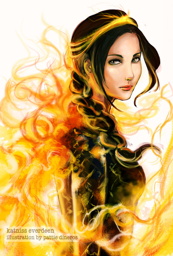 Katniss Everdeen by Patsie