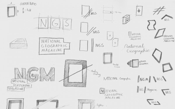 Rough Sketches of the logo