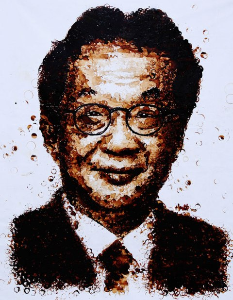 Francis Yeoh's Portrait by Hong Yi