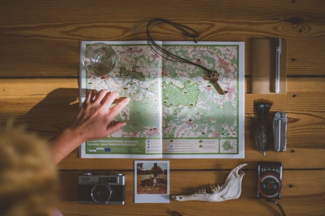Monday mornings are for planning adventures by Julia Nimke