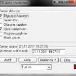 TD Auto shutdown