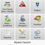 Android Cari Takip Programı